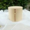 Small Round 2 stages bending magewappa bento box กล่องข้าวเบนโตะญี่ปุ่นทรงกลมสีไม้ 2 ชั้น