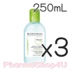 (ซื้อ3 ราคาพิเศษ) (ของแท้) Bioderma Sebium H2O สีเขียว 250 mL ไบโอเดอร์มา ซีเบียม ทำความสะอาดใบหน้า และเช็ดเครื่องสำอาง สูตรน้ำ ชนิดไม่ต้องล้างออก