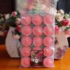 เทียนหอมทีไลท์ [Tealight Candle] กลิ่น ทุ่งดอกไม้ [Wild Floral] 15 ชิ้น ต่อแพ็ค