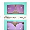 เทียนหอมทีไลท์แบบใหญ่ [JUMBO Tealight] กลิ่นดอกลาเวนเดอร์ (LAVENDER) 6 ชิ้น