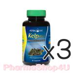 (ซื้อ3 ราคาพิเศษ) Herbal One อ้วยอัน Kelp Plus 60 Capsules สาหร่ายเคลป์ เร่งการเผาผลาญไขมันส่วนเกิน และยับยั้งการ สร้างไขมันใหม่