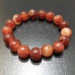 อาเกตสีส้ม 10 มม./Orange Agate 10 mm.