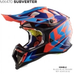 MX470 SUBVERTER NIMBLE BLACK BLUE ORANGE