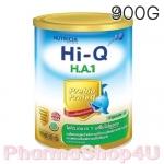 Dumex Hi-Q H.A 1 ไฮคิว เอช เอ 1 พรีไบโอโพรเทก 900 กรัม นมผงสูตรสำหรับทารกที่มีความเสี่ยงต่อภูมิแพ้ และแพ้โปรตีนนมวัว