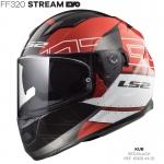 FF320 STREAM EVO KUB RED BLACK
