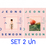 "[PRE-ORDER] JEONG SE WOON - 1st Mini Album""EVER"" (SET 2 ปก)"