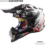 MX470 SUBVERTER EMPEROR BLACK WHITE RED