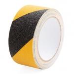 เทปกันลื่น สีเหลือง-ดำ กว้าง 1 นิ้ว x ยาว 5 เมตร