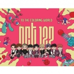 """[PRE-ORDER] NCT 127 - Coloring Paper Set """"TO THE COLORING WORLD! NCT 127"""""""