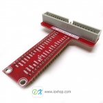 Breakout GPIO adapter plate for Raspberry Pi