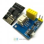 ESP01 NeoPixels RGB LED Module + ESP8266 ESP01