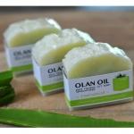 สบู่น้ำมันมะพร้าวสกัดเย็น - ว่านหางจรเข้/ Pure Coconut Oil Soap