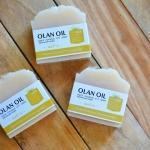 สบู่น้ำมันมะพร้าวสกัดเย็น - นมข้าว/ Pure Coconut Oil Soap
