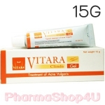 VITARA Clinda-Gel 15g เจลใสแต้มสิว ดีกว่าแบบน้ำ ช่วยลดการอักเสบของสิว และป้องกันการเกิดรอยดำ