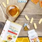 2 กระปุกเล็ก (30 เม็ด) นมผึ้ง นูโบลิค Nubolic Royal jelly สดจากออสเตรเลีย พรีเมียมคุณภาพสูง ส่งฟรี EMS