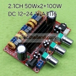 TPA3116D2 2 * 50W + 100W 2.1-channel digital
