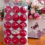 เทียนหอมทีไลท์ [Tealight Candle] กลิ่น แอปเปิ้ล [Apple ] 15 ชิ้น ต่อแพ็ค