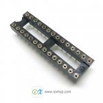 ซ็อกเก็ตไอซี 28 ขา แบบขากลม DIP28 DIP-28 Round IC Socket
