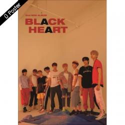 "[PRE-ORDER] UNB - 2nd Mini Album ""BLACK HEART"" (Black Ver.)"