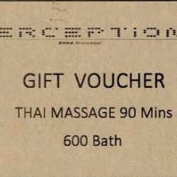 Thai massage 90 mins