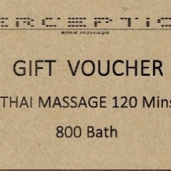 Thai massage 120 mins