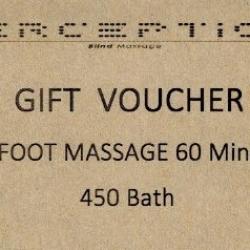 Foot massage 60 mins