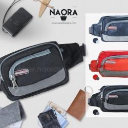 กระเป๋าคาด Sport ซิปโค้ง