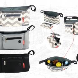 กระเป๋าจัดเก็บสัมภาระรถเข็นเด็ก