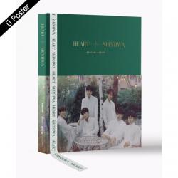 "[PRE-ORDER] SHINHWA - Twenty Special Album ""HEART"" (Hard Cover)"