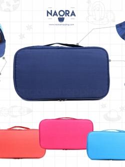 กระเป๋าจัดระเบียบชุดชั้นในแบบ 2 ชั้น