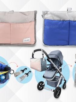 กระเป๋าจัดระเบียบเอนกประสงค์ แขวนรถเข็นเด็กได้