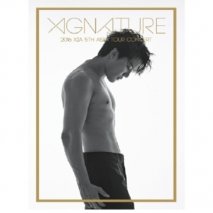 "[PRE-ORDER] KIM JUN SU - 2016 XIA 5TH ASIA TOUR CONCERT ""XIGNATURE"" (3DVD)"