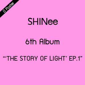 """[PRE-ORDER] SHINEE - 6th Album """"'THE STORY OF LIGHT' EP.1"""""""