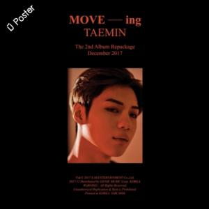 "[PRE-ORDER] TAEMIN - 2th Album Repackage ""MOVE-ing"""