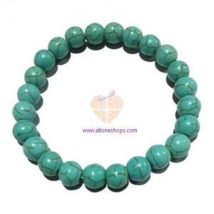 หินเทอร์ควอยส์ 8 มม./Turquoise 8 mm.