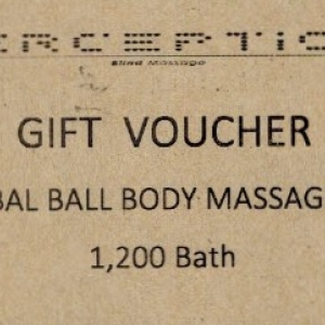 Thai herbal ball body massage 120