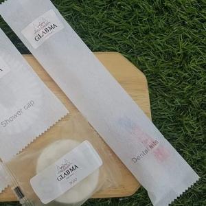 แปรงสีฟัน1ด้าม+ยา3กรัม ซองสปันบอน+โลโก้(5.35-6.00บาท)