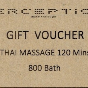Thai massage 120 mins