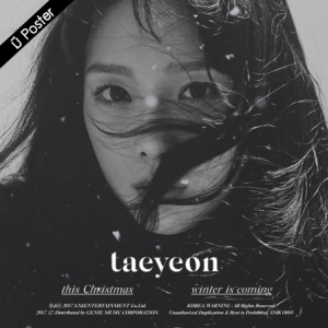 """[PRE-ORDER] TAEYEON - Winter Album """"THIS CHRISTMAS - WINTER IS COMING"""""""