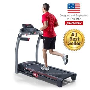ลู่วิ่งไฟฟ้า JOHNSON Treadmill รุ่น Johnson 8.1T