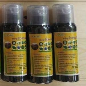 แชมพูข้าวหอมนิล Hom-Nin Rice Shampoo 250 ml