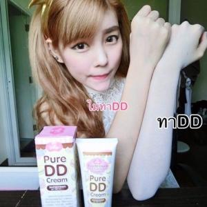 3 หลอด Jellys DD Cream ดีดีครีมเจลลี่ หัวเชื้อผิวขาว บำรุงผิวกาย ดีดีครีมน้ำแตก สารสกัดจากเกาหลี ผิวขาวใสออร่า ปกป้องผิวจากแสงแดด SPF100 PA+++ ส่งฟรี EMS
