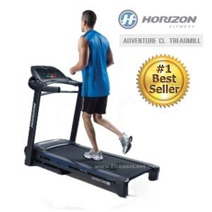 ลู่วิ่งไฟฟ้า Horizon Treadmill Adventure CL