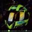หมวกกันน็อคReal รุ่นHornet-Virago สีดำเขียวด้าน thumbnail 1