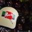 หมวกกันน็อคคลาสสิก 5เป๊ก (มีแว่น) สี Ride Up ครีม thumbnail 1