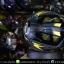 หมวกกันน็อคReal รุ่น Tornado Space-1 สีดำ-เหลือง thumbnail 6