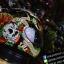 หมวกกันน็อคMT Revenge Skull & Roses - Gloss Black / Red thumbnail 5