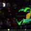 หมวกกันน็อคReal รุ่นHornet-Virago สีเขียวด้าน thumbnail 1