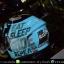 หมวกกันน็อคBilmola Veloce สี Eat Sleep Ride Mint Green thumbnail 4