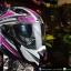 หมวกกันน็อคBilmola รุ่น Gravity สี Spector Pink/Gray thumbnail 1